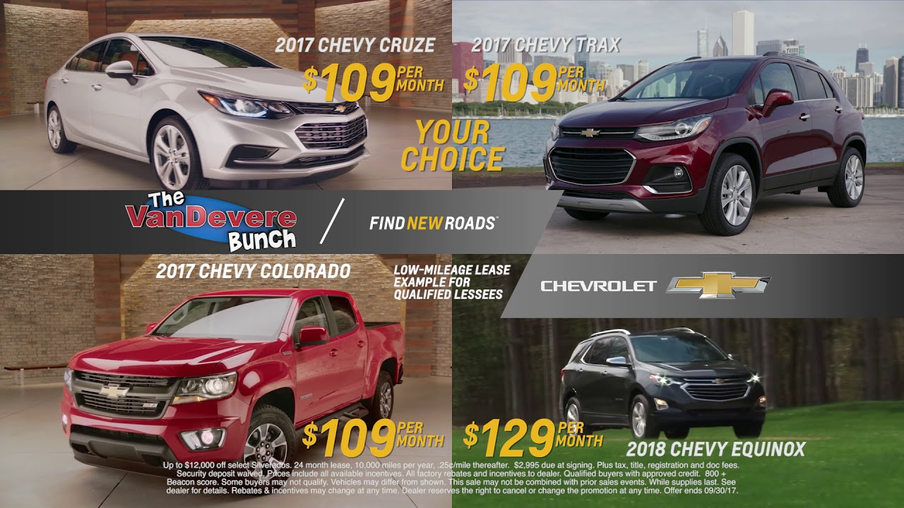 VanDevere Chevrolet - Akron Ohio - Trade Up - Cruze, Colorado, Trax