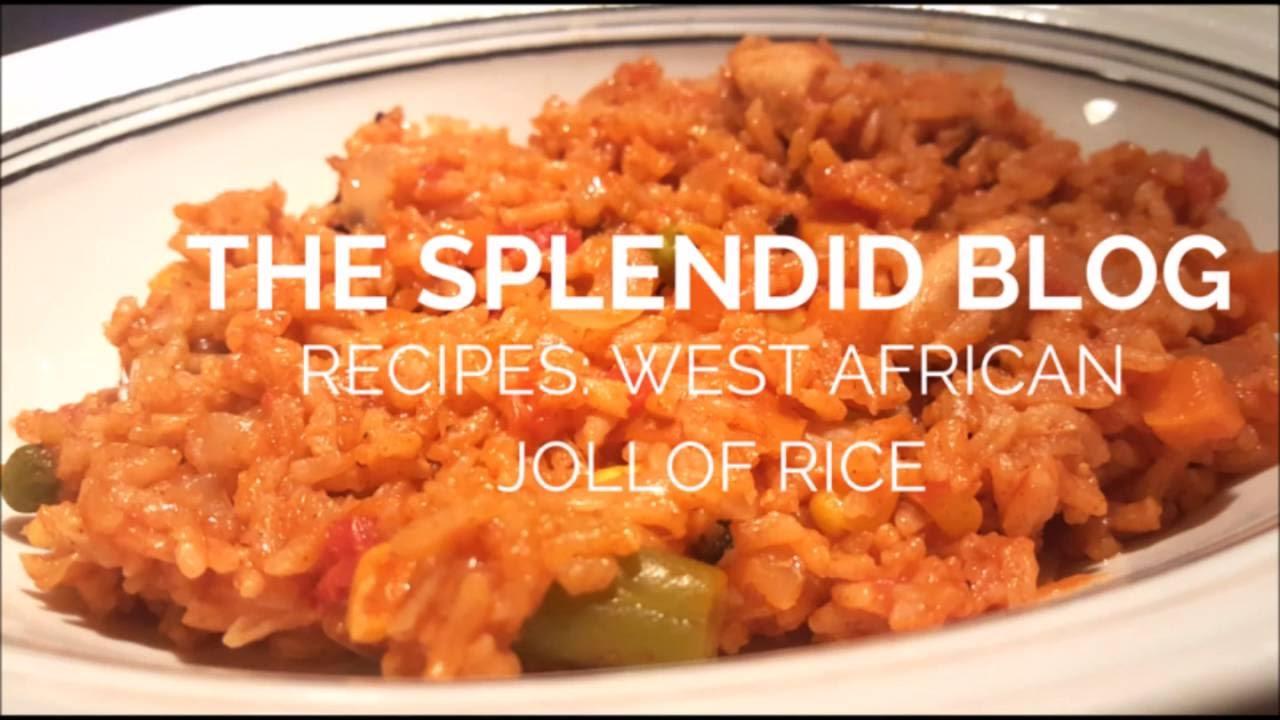Recipes: West African Jollof Rice