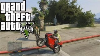 GTA 5 FULL HD SPORT BIKE Gameplay !!! Grand Theft Auto V PS3 Xbox 360