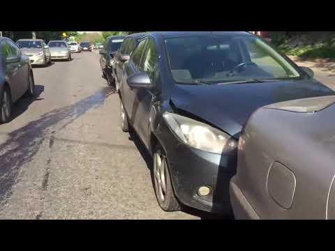 Авария из 6 автомобилей в Воронеже