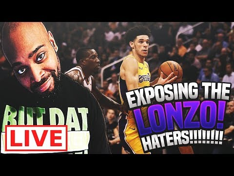 EXPOSING ALL THE LONZO BALL HATERS LIVE! Everyone Praises Him + Near Triple-Double In 2nd NBA  Game