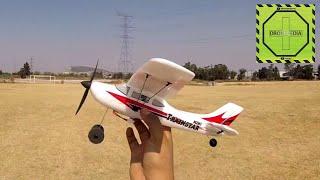 Trainstar Mini літаку зі стабілізатором і польоту ручної 3 каналу |DRONEPEDIA
