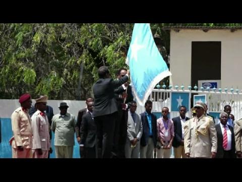 Full Video Qaabkii ay u dhacday xilwareejintii Farmajo iyo Xasan ee Villa Somalia
