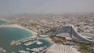 BURJ AL ARAB ROYAL SUITE VIEW FROM