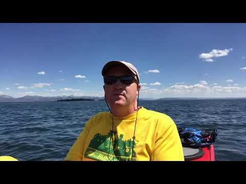 Kayaking in Yellowstone National Park