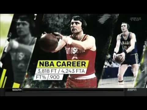 ESPN SportsScience Granny Freethrow Feat Rick Barry