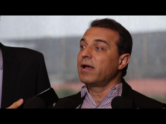 OBRAS NA VIA DE ACESSO E CONSTRUÇÃO DO NOVO AEROPORTO DE FLORIANÓPOLIS