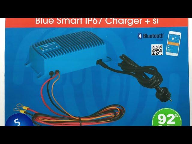 Victron Blue Smart IP67 - Batterilader i Kabe Campingvogn