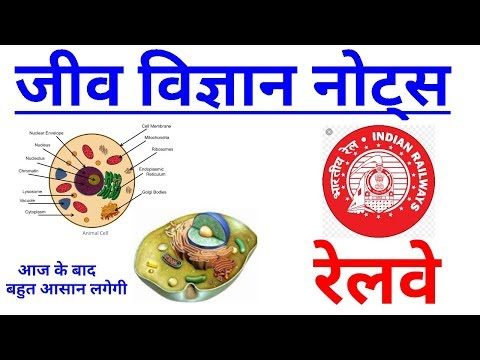 1-BIOLOGY in hindi|RRB Locopilot|Group D|Technician|Railways exam 2018|Biology MCQ|RRB Alp Science