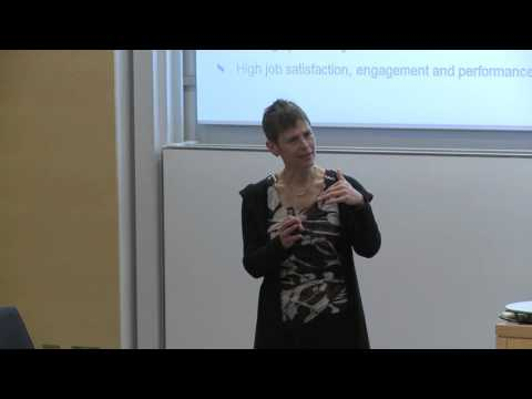 Sally Maitlis: Negotiating the challenges of a calling: emotion and enacted sensemaking