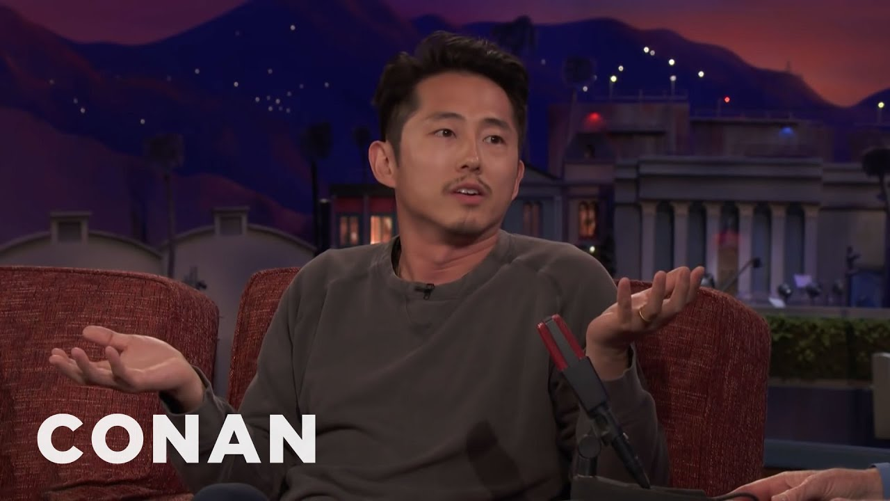 Download Steven Yeun: My Dad Thought I Was Doing Porn | CONAN on TBS