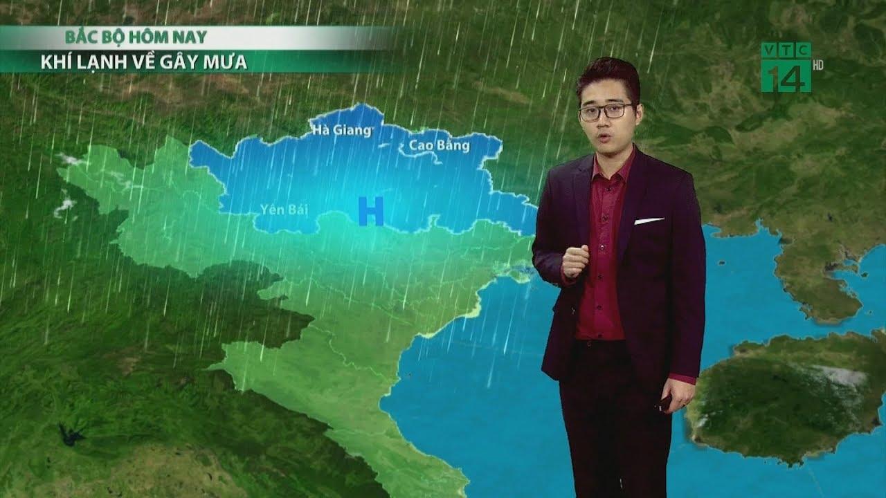 Thời tiết 6h 04/03/2020: Ảnh hưởng KKL, Bắc Bộ sẽ tiếp tục xảy ra mưa dông trên diện rộng | VTC14