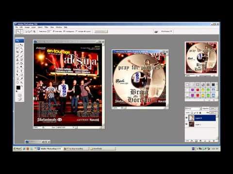 วิธีการทำปก CD (for FOF)