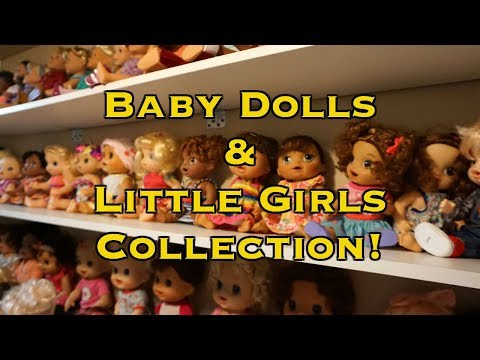 BABY DOLLS & LITTLE GIRLS Baby Alive Collection!