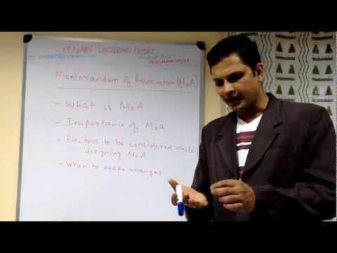 Understanding  Memorandum Of Association (MoA) for businesses in India