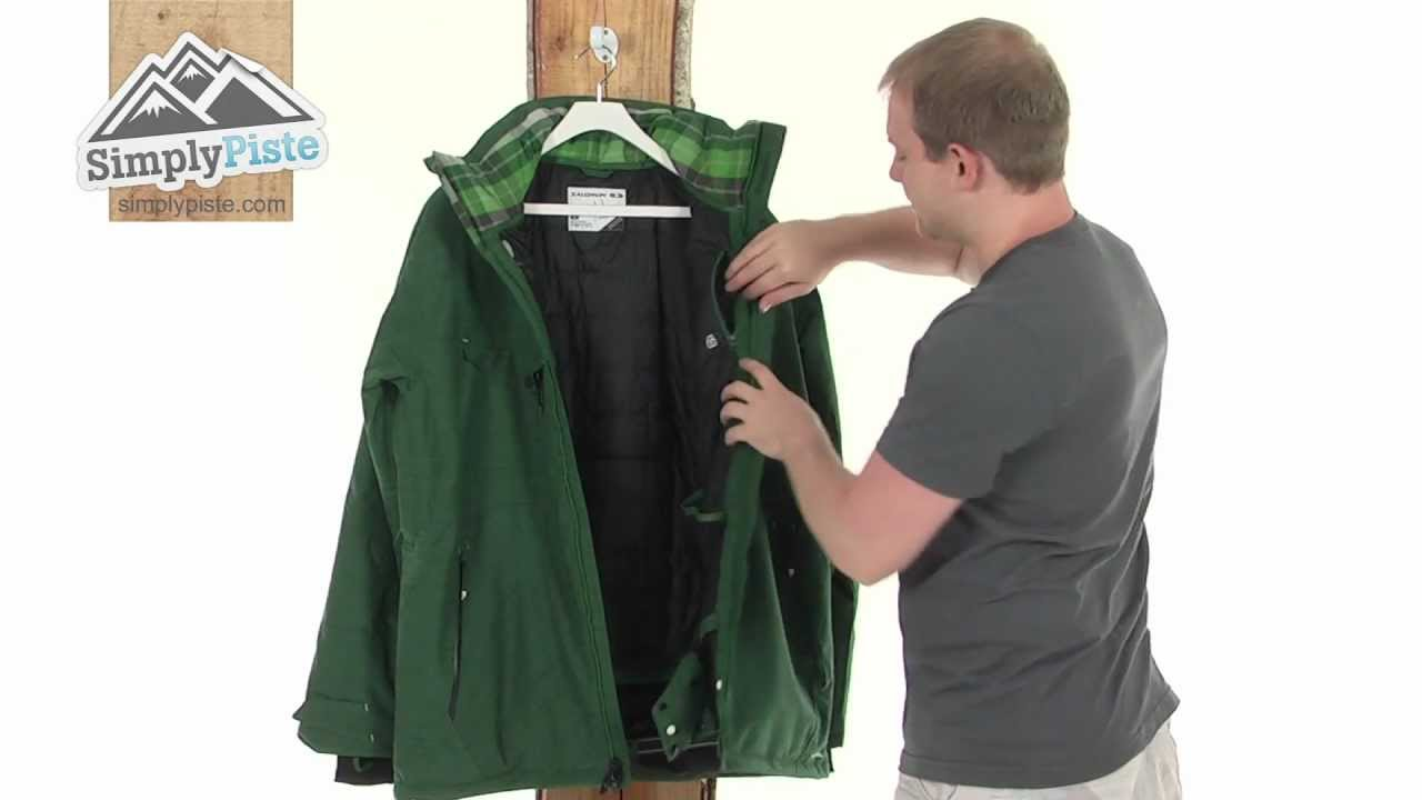 Jacket Cadabra Insulated Salomon Mens Youtube anZtvSx