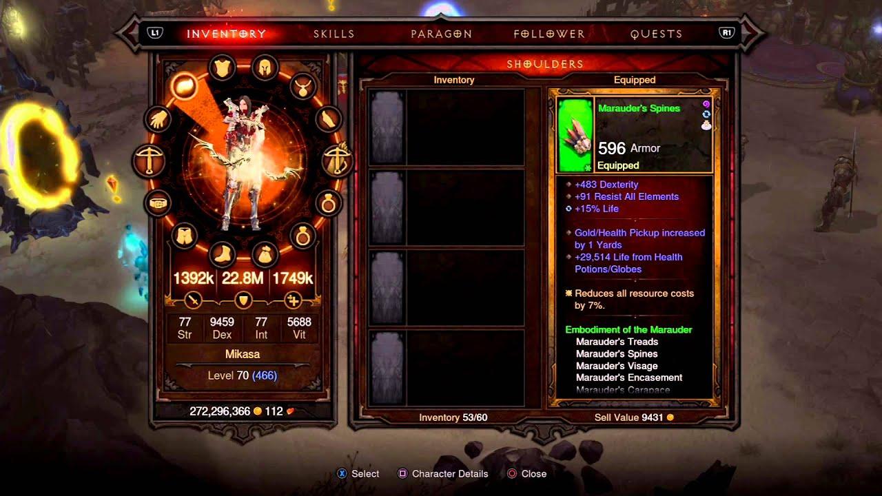 Demon Hunter Diablo Build