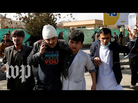 Suicide bomber in ambulance kills at least 95, wounds 158, Kabul officials say