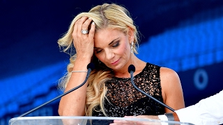 Watch Amor's heart-wrenching farewell to Joost at memorial service