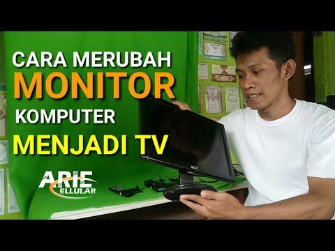 Cara Merubah Monitor Komputer Menjadi Tv Youtube