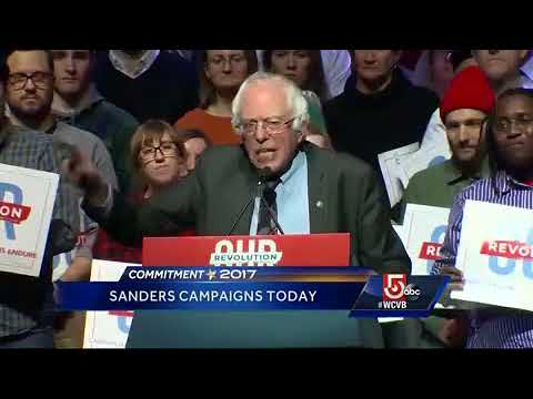 Sanders campaigns Monday in Somerville