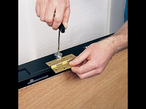 How To Use The Trend Hinge Jig To Hang A Door Youtube