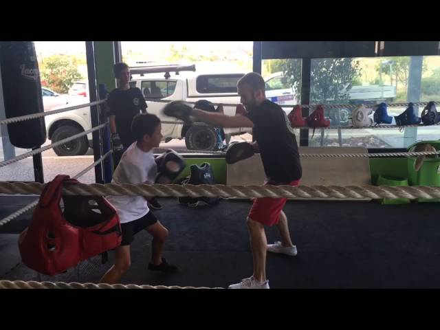 Young weapons at Laceys Gym Perth WA