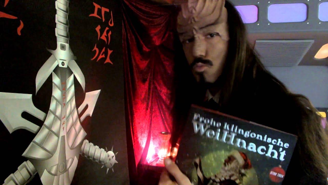 Klingon Christmas Greetings - YouTube
