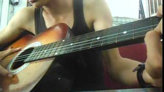 nắm lấy tay anh guitar cover