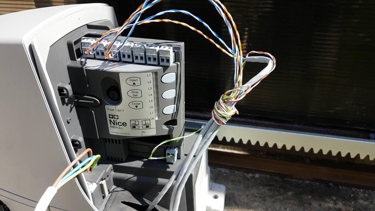 22 мар 2015. Как запрограммировать привод nice rd400 самостоятельно часть 1 из 2. Продажа электроприводов для ворот, рольставен,