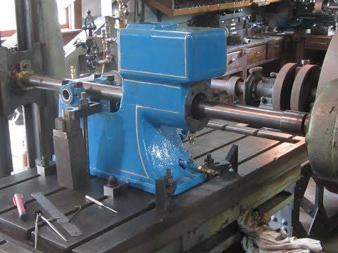 OLD STEAM POWERED MACHINE SHOP 25