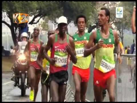 Eliud Kipchoge wins Kenya's second Gold in the men's marathon