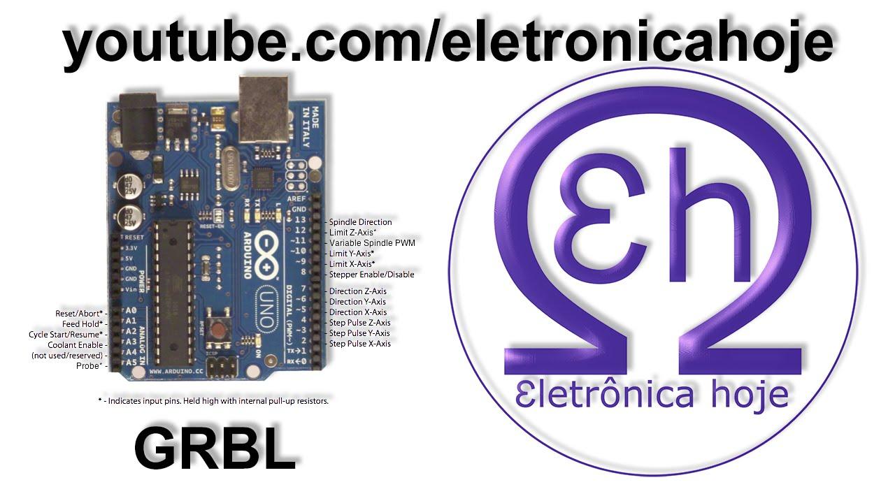Tutorial Cnc 1 Instalando Grbl No Arduino Uno Youtube