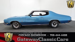 1972 Buick GS Gateway Classic Cars Chicago #1075