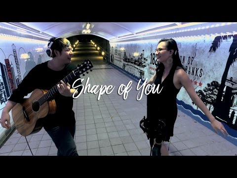 Ed Sheeran - Shape of You (Duet cover by Mingwei and Miss Lou)