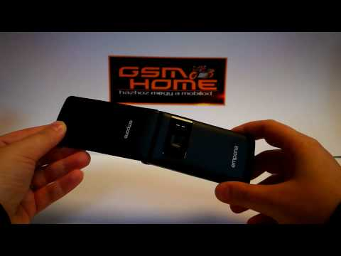 Emporia Flip Basic - kicsomagolás - GsmHome