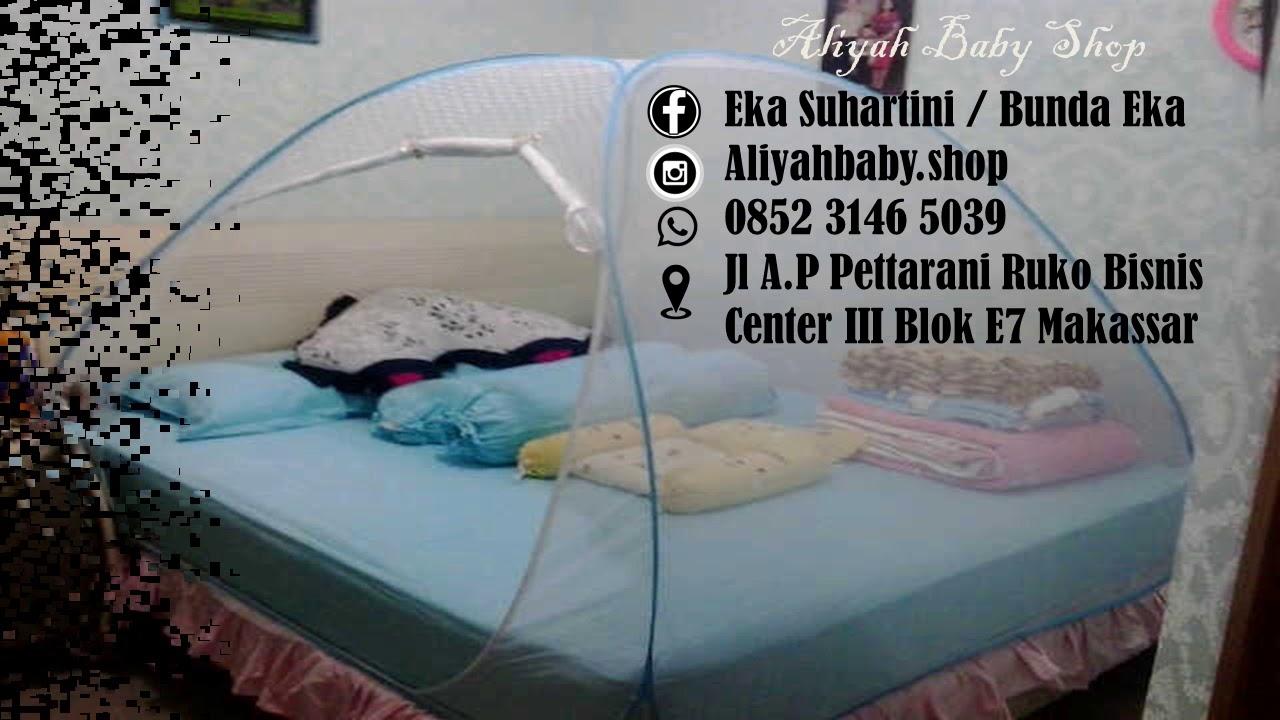 - Aliyah Baby Shop (kelambu Javan Bed Canopy) - YouTube