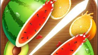 Fruit cut games for kids/kids fun game