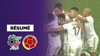 Résumé : L'Algérie fracasse la Colombie avec un Mahrez des grands soirs !