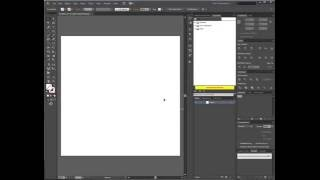 Adobe Illustrator налаштування профілю нового документа. Автоматизація роботи випуск 1.