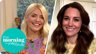 Phillip & Holly talk to The Duchess of Cambridge about her new 'Hold Still' Project | This Morning
