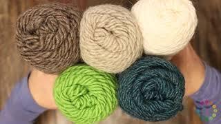 Brown Sheep Lamb's Pride Worsted Yarn Review!