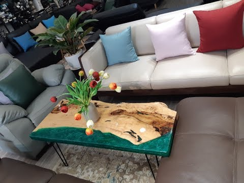Bàn Trà, Café Gỗ 3d Epoxy Resin Ở Quận Bình Tân - 0789 000 533