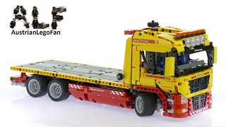 Lego Technic 8109 Flatbed Truck - Lego Speed Build Review