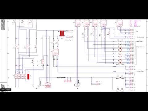 Diagram reading for Ergoline electronic 2  YouTube