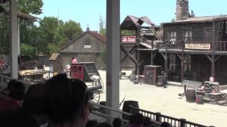 Fort Frenzee - Stunt Show, Port Aventura 1999-2009. Full Show HD