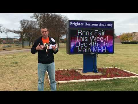 Mr. Peace Visits Brighter Horizons Academy in Garland, Texas