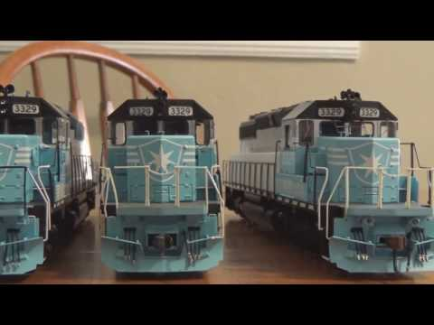 Athearn Maersk Sealand SD40-2 With Econami + LED Review- Quality Control Issues