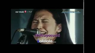 Gambar cover Yui -  Summer Song (Lyrics) live video
