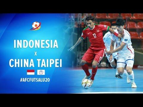 Indonesia (6) VS (2) China Taipei - AFC Futsal Championship 2017 U20